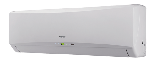Wandunit, wandmodel airco, airconditioner aan de muur